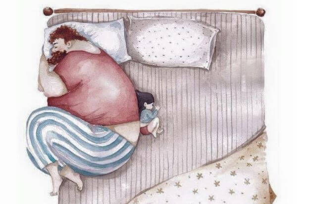 Padres e hijos: la huella del abandono de un padre
