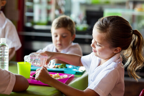 Las ventajas del comedor escolar