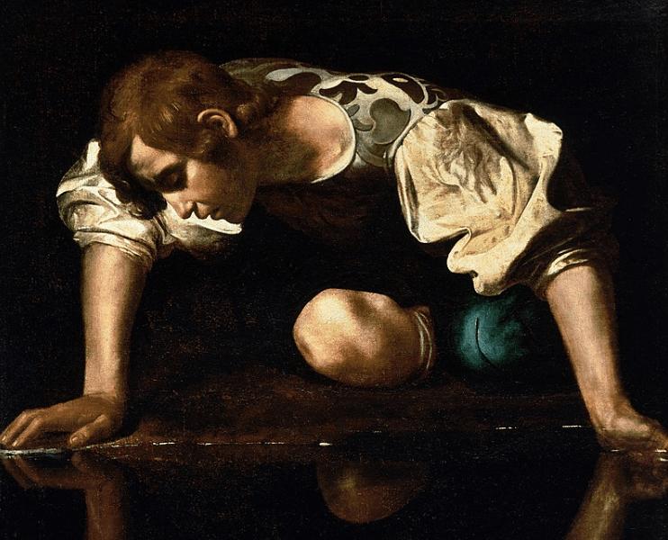 La bella fábula de Eco y Narciso