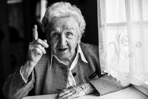 Mi abuela, ¿psicóloga?
