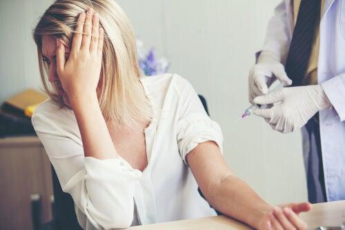 Fobia a la Sangre-Inyección-Daño o SID