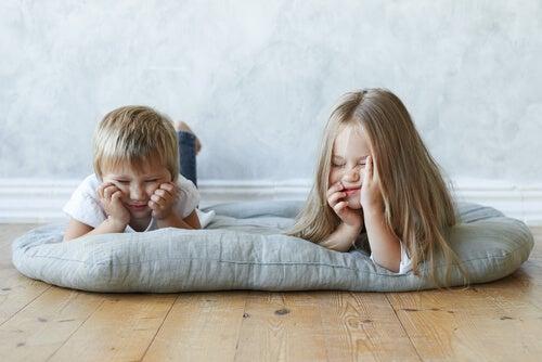 El poder del aburrimiento en los niños